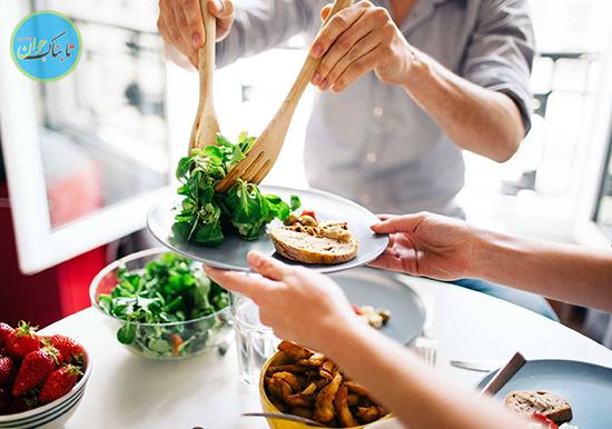۷ عادت غلط تغذیه ای