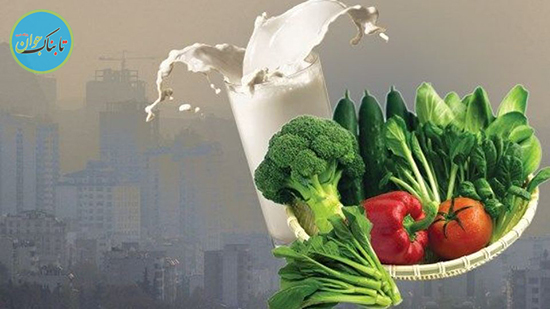 بخور و نخور های روزهای آلوده