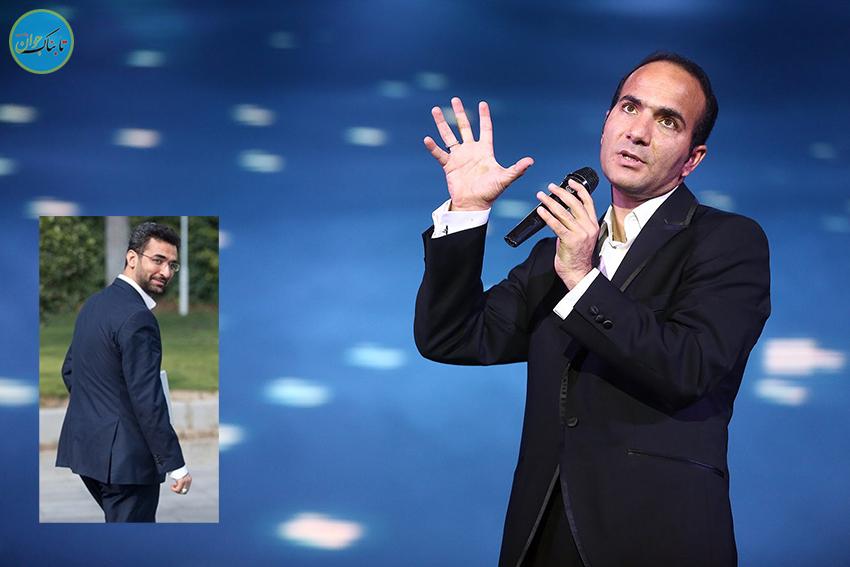 کمدی بامزه حسن ریوندی مقابل وزیر جوان