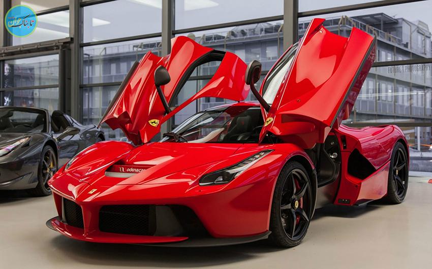 اتومبیل Ferrari Laferrari با کیت بدنه خاص به فروش رسید +تصاویر