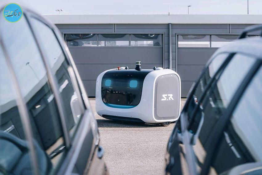 تصاویر؛ رباتی که ماشین شما را پارک میکند
