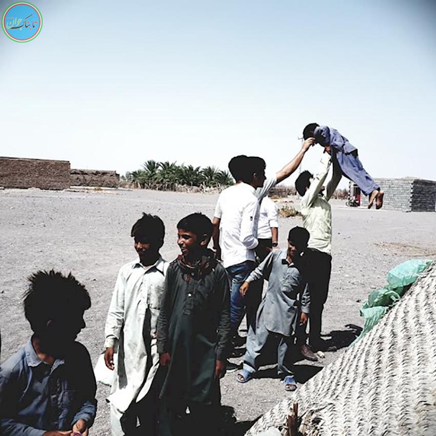 فیلم؛استعداد فوق العاده نوجوان چابهاری