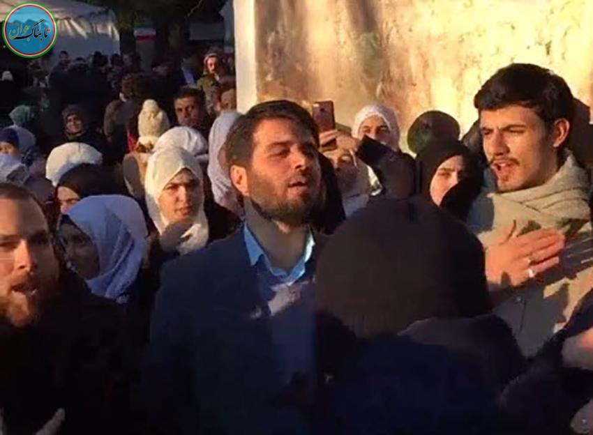 مداحی دکتر میثم مطیعی در خیابان های فرانسه!