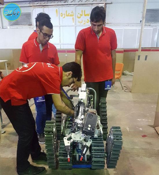 بهترین ربات سازهای دنیا هستیم