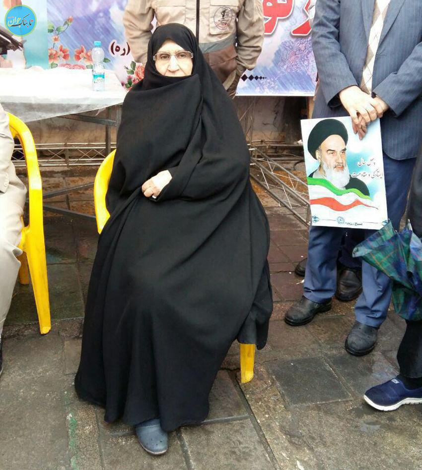 چهرهها و شخصیتها در راهپیمایی ۲۲ بهمن ۹۷