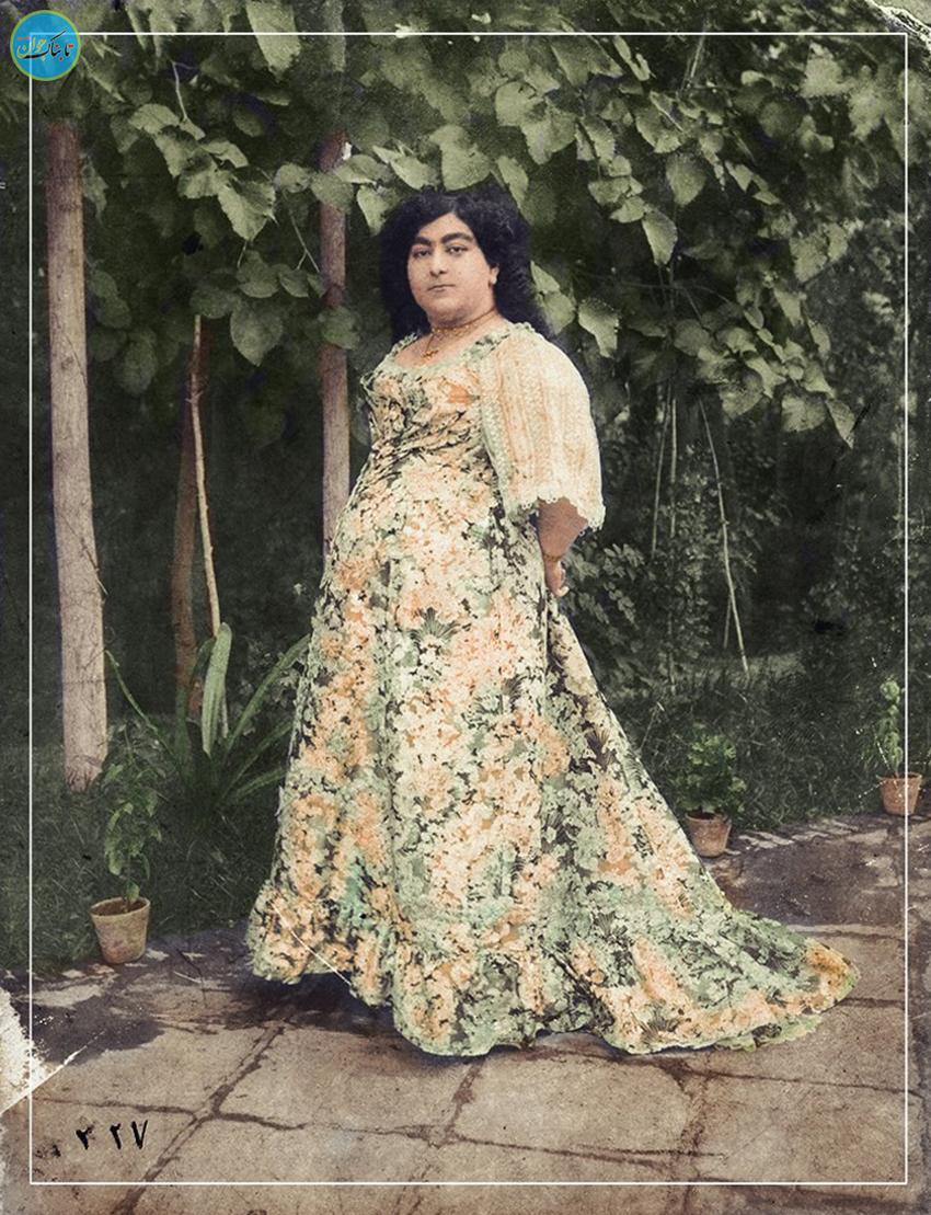 عکس رنگی قاجارها در سال ۹۷