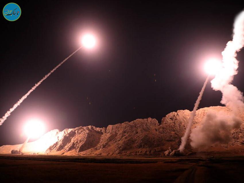 موشکهای ایرانی در آسمان اسرائیل !