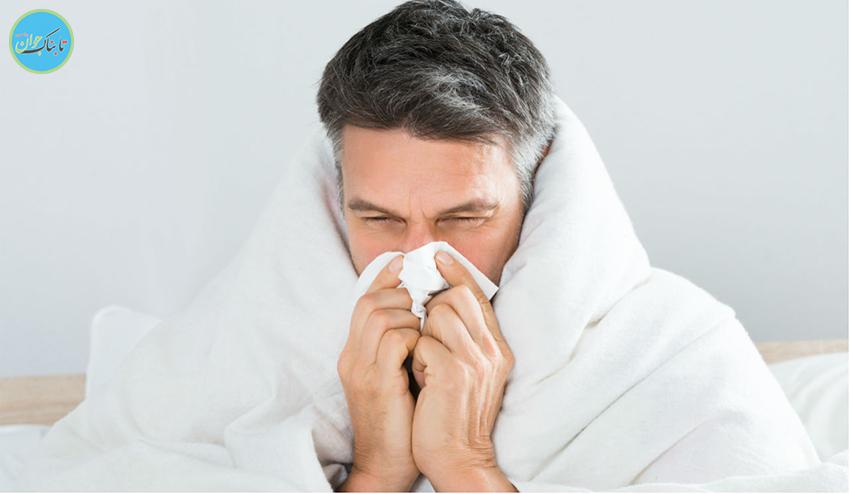 تفاوت سرما خوردگی با آنفولانزا