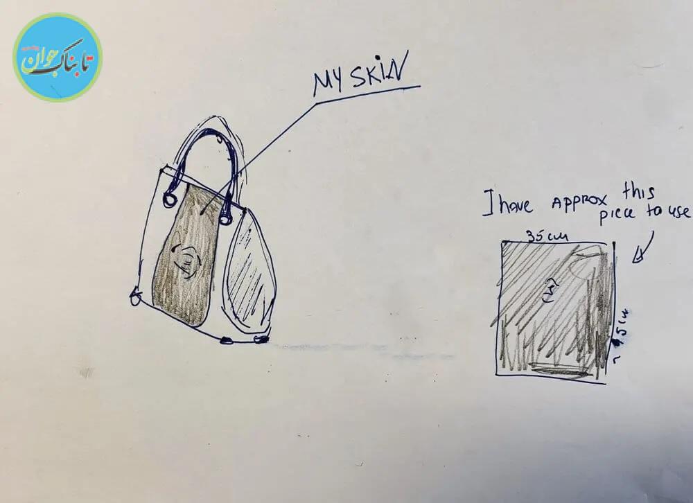 کیف دستیای که از پوست بدن صاحبش درست شد +عکس