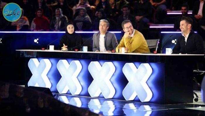 بسته خبری : شرکت کننده عصر جدید به داوران رو دست زد
