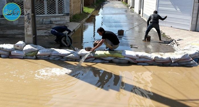 بسته خبری: پایکوبی جوانان خوزستانی برای مقابله با سیلاب!