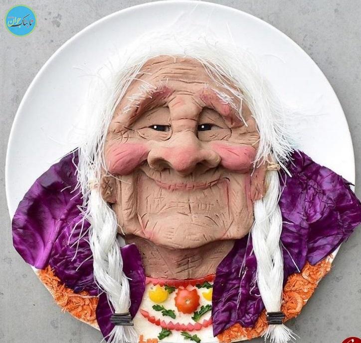 بسته خبری : مادر هنرمندی که به خاطر بدغذایی پسرش مشهور شد+عکس