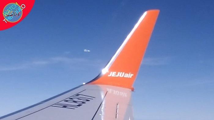 بسته خبری: حیرت مسافران هواپیما با دیدن اشیای عجیب در آسمان!