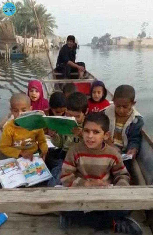 بسته خبری: جالب ترین کلاس درس کودکان سیل زده!