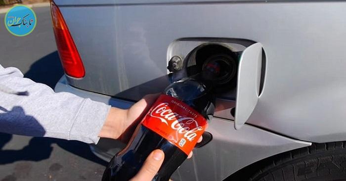 بسته خبری: خودوریی که به جای بنزین با نوشابه حرکت میکند!