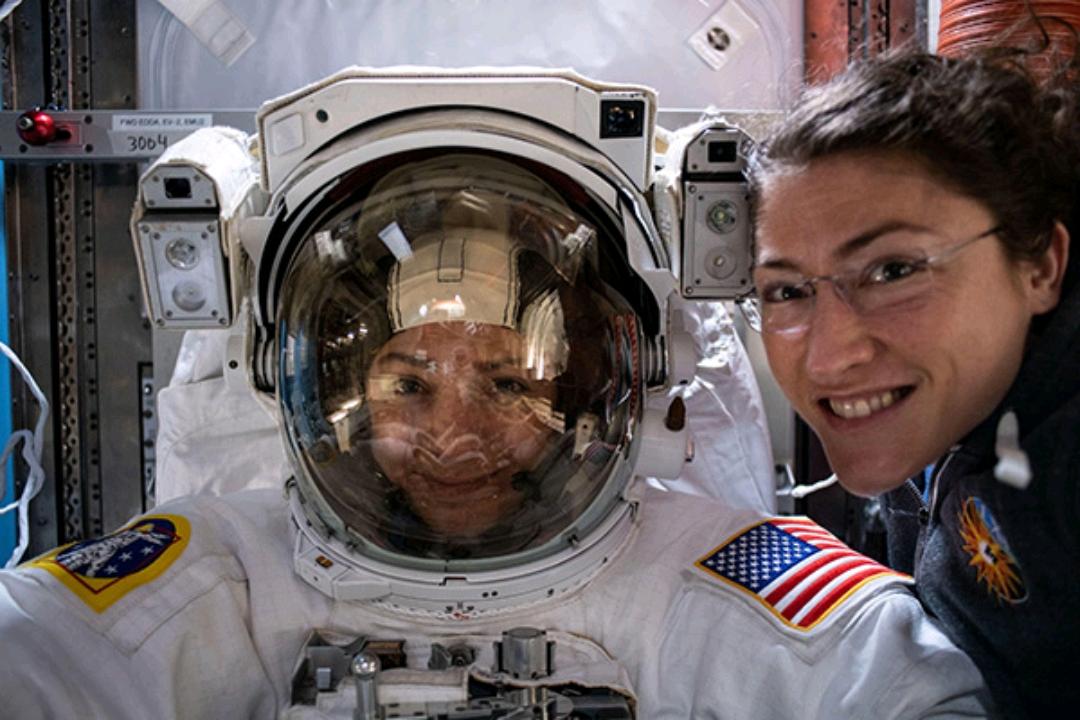 دومین راهپیمایی فضایی زنانه انجام شد