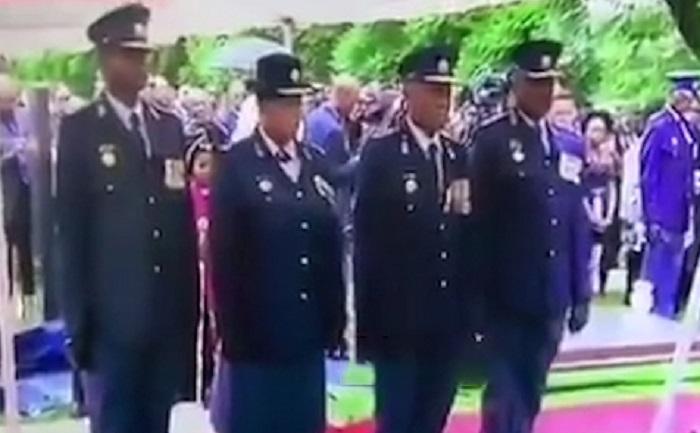افسران آفریقایی