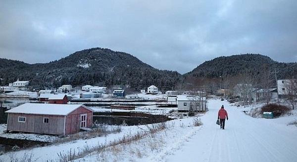 جزیره ای در کانادا
