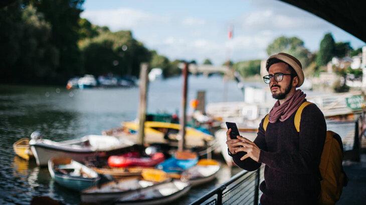 سفر با موبایل