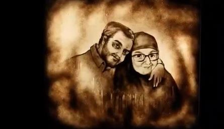 هنرنمایی جدید فاطمه عبادی به یاد سردار سلیمانی