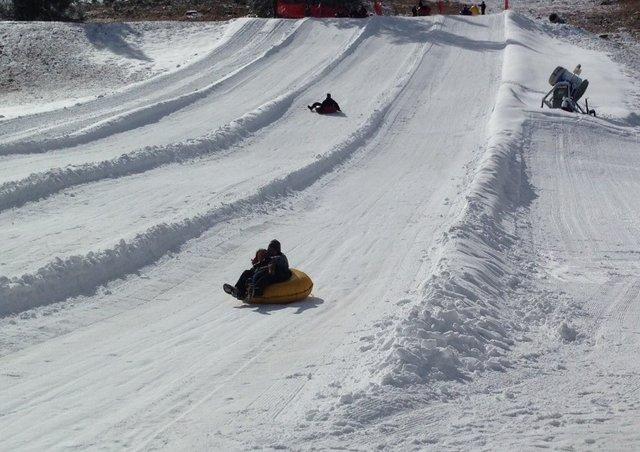 تایرسواری در برف