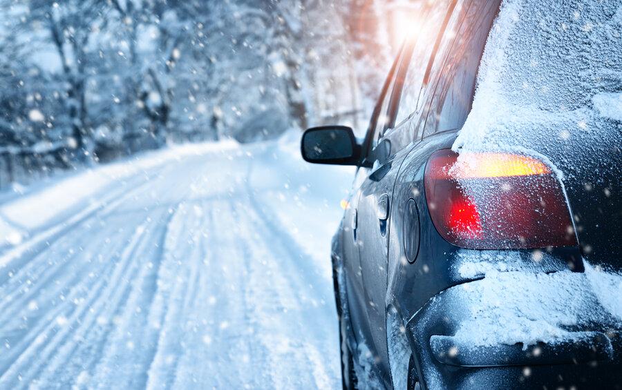 رانندگی در برف و یخبندان