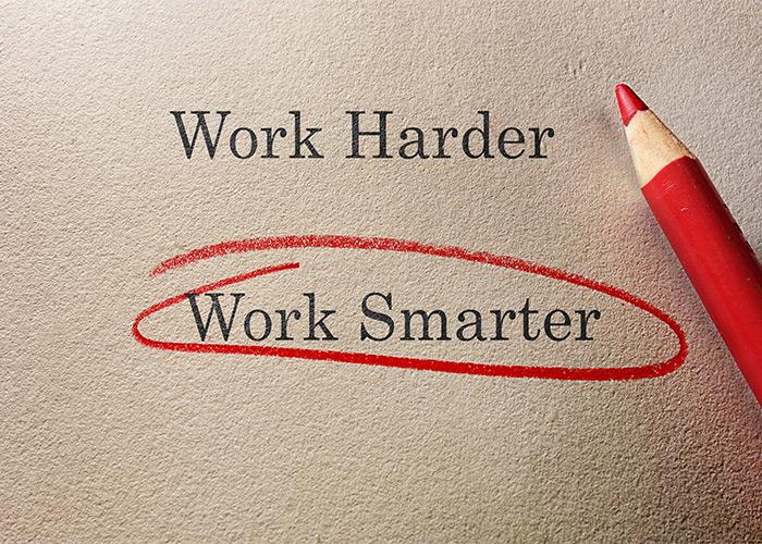 هوشمندانه کار کردن از سخت کار کردن مهمتره!