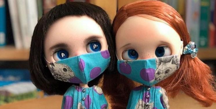 عروسک ماسک دار
