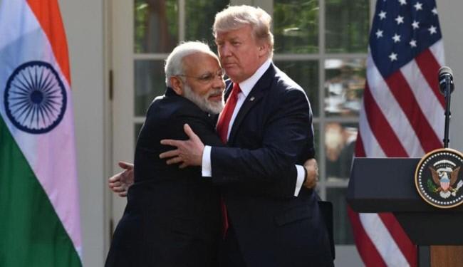 نخست وزیر هند و ترامپ