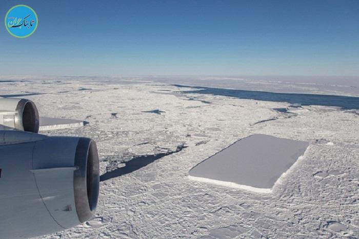 بسته خبری: تصادف عجیب هواپیما با توده یخ در آسمان!