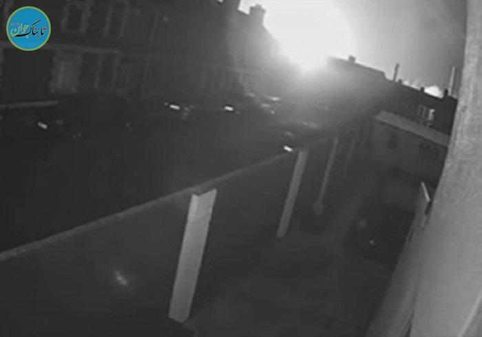 بسته خبری: روشن شدن آسمان شب پس از انفجار در کارخانه فولاد!