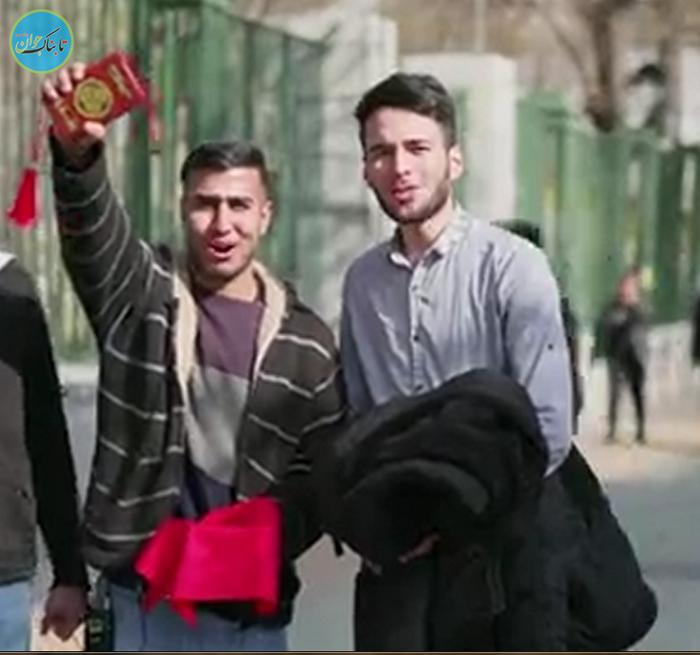علامت مخصوص حاکم بزرگ در دست مردم ایران!