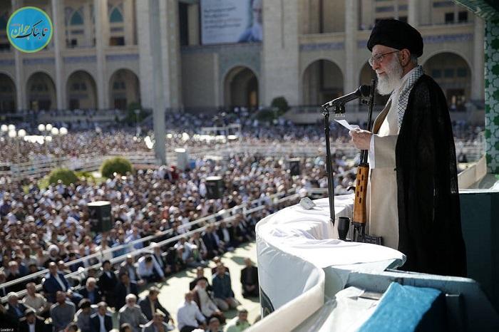 سلاح تک تیراندازها در دست رهبر انقلاب+ عکس