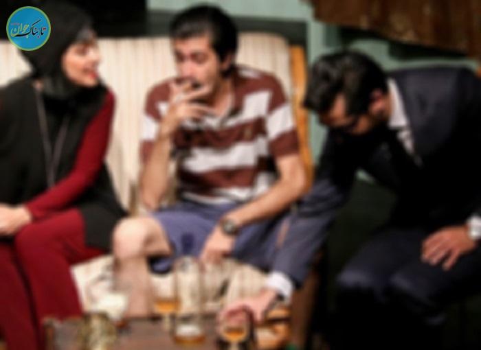 بسته خبری : سرو مشروبات الکلی روی صحنه تئاتر!