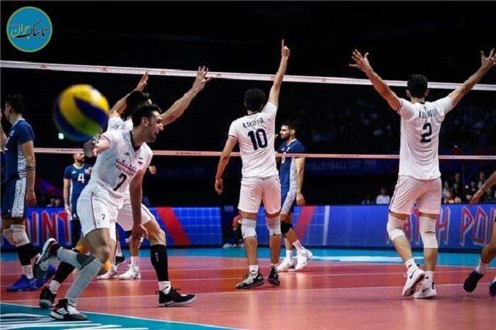 امتیاز گیری پر هیجان والیبال ایران!