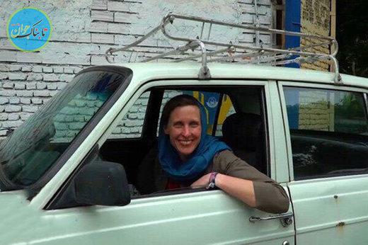 بسته خبری: ایران گردی دختر آلمانی با پیکان!