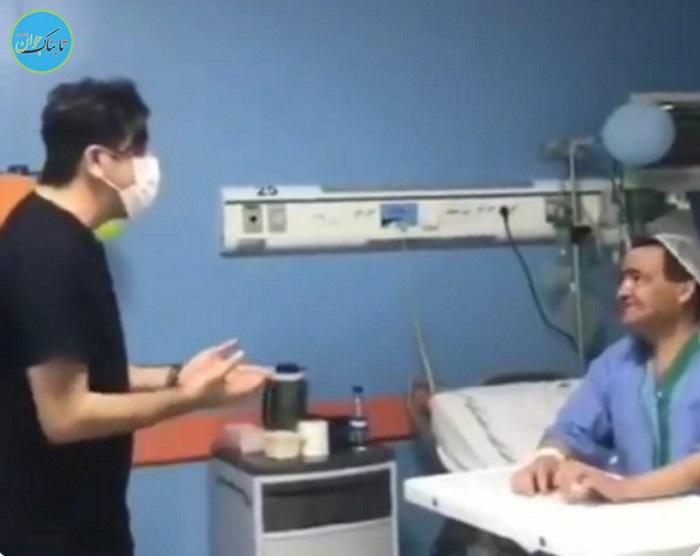 اقدام جالب پزشک تبریزی برای بیمار تنها