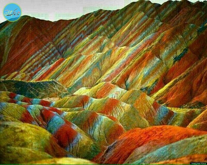 رنگ آمیزی خداوند در طبیعت+ فیلم