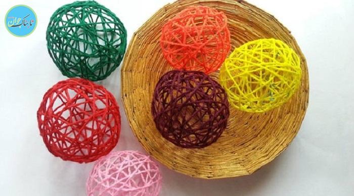 آموزش ساخت لوستر و توپهای رنگی با بادکنک