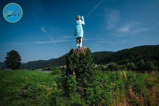 مجسمه پرحاشیه ملانیا ترامپ در اسلوونی!+ تصاویر