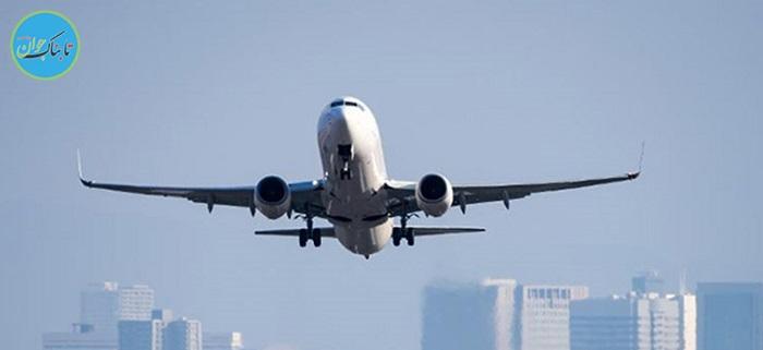 لحظه کنده شدن موتور هواپیما در حین پرواز +فیلم