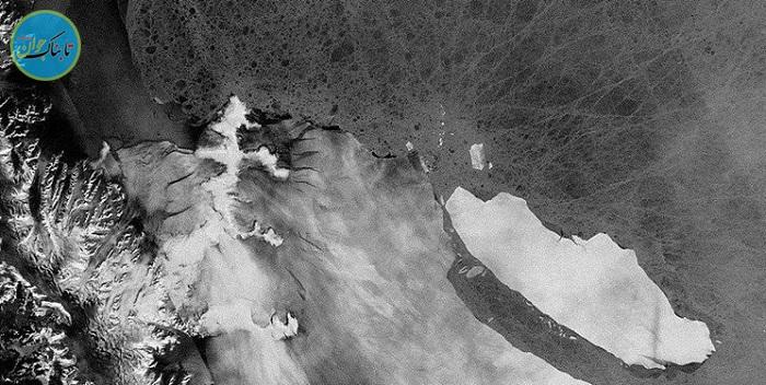 حرکت ۲۴۹ کیلومتری بزرگترین یخچال جهان+فیلم