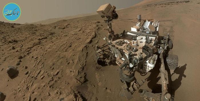 یک کاوشگر از «کوه» مریخ تصویربرداری کرد