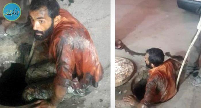مرد اهوازی که فداکاری اش زبانزد شد+ عکس