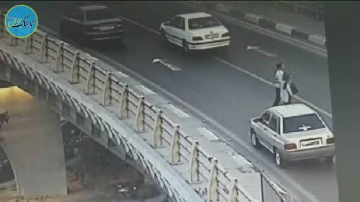 پلیس راهور فرشته نجات دختر تهرانی!+ عکس