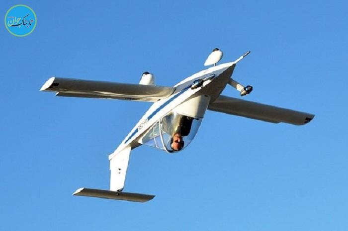 حرکات نمایشی با کوچک ترین هواپیمای جهان+ فیلم وعکس
