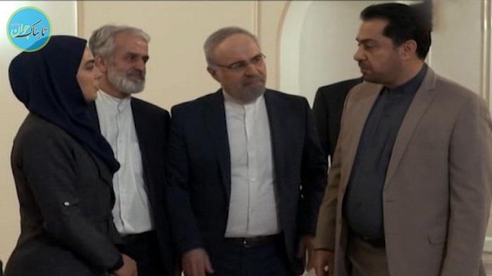 بسته خبری : اولین مصاحبه خانم بازیگر بعد از بازگشت به ایران