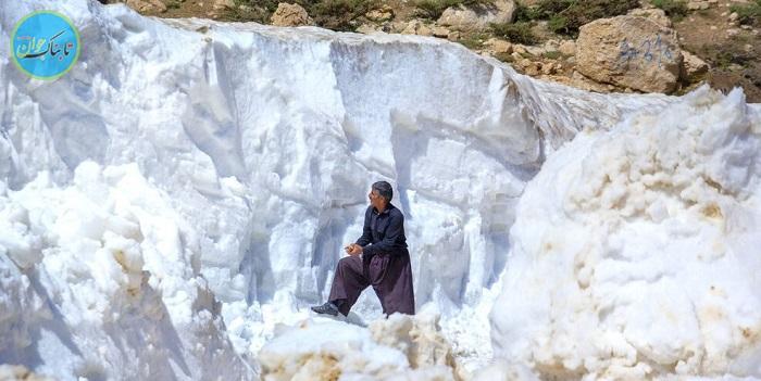 بسته خبری : جدال با برف در دومین ماه تابستان!