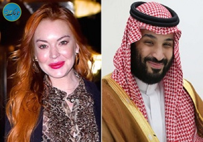 ارتباط بن سلمان با بازیگر زن پرحاشیه آمریکایی