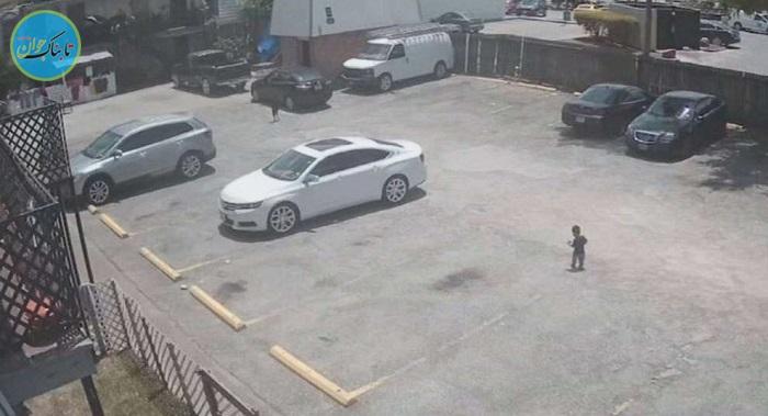 مرگ دردناک کودک خردسال در پارکینگ خودرو